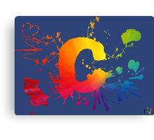 Cosplay Flag/symbol blue Canvas Print