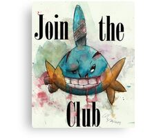 Fight Club Edition Mudkip Canvas Print