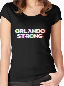 Orlando Strong Shirts, Bumper Stickers & Cups Women's Fitted Scoop T-Shirt