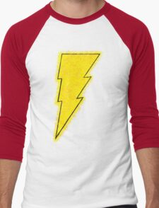 Superhero Spray Paint - Shazam Men's Baseball ¾ T-Shirt
