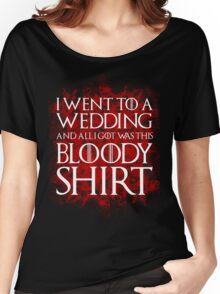 Red Wedding Women's Relaxed Fit T-Shirt