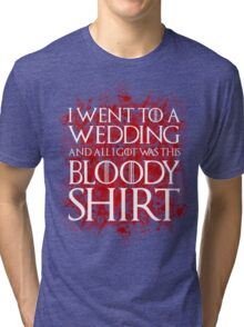 Red Wedding Tri-blend T-Shirt
