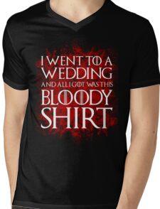 Red Wedding Mens V-Neck T-Shirt