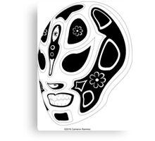 El Cabeza del Luchador El Ojo del Dios Canvas Print