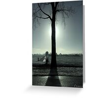 Everyone has a dark side but only the light will show Greeting Card