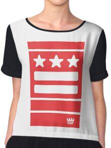 DC Represent (red) Chiffon Top