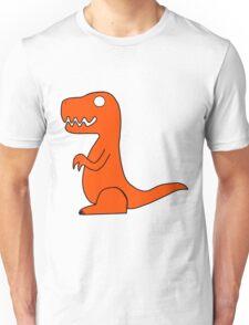 Dino Orange Unisex T-Shirt