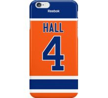 Edmonton Oilers Taylor Hall Alternate Jersey Back Phone Case iPhone Case/Skin