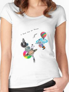 Coldplay - AHFOD Women's Fitted Scoop T-Shirt
