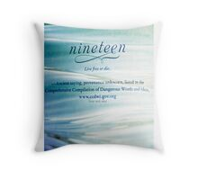 Chapter Nineteen - Delirium Throw Pillow