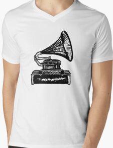 Snazzy Gramophone  Mens V-Neck T-Shirt