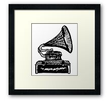 Snazzy Gramophone  Framed Print