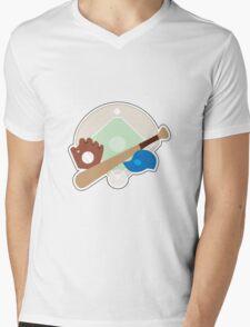 Baseball Stuff Mens V-Neck T-Shirt