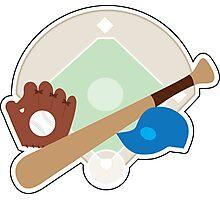 Baseball Stuff Photographic Print