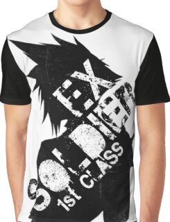 Cloud Strife ex-SOLDIER Graphic T-Shirt