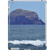 Bass Rock Lighthouse, Scotland iPad Case/Skin
