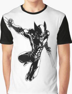 Wolverine badass Graphic T-Shirt