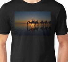 Camels on Cable Beach 2 Unisex T-Shirt