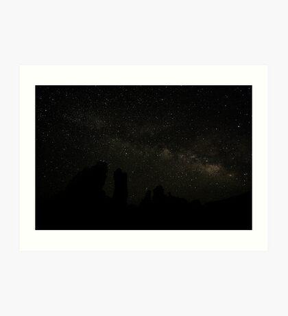 Mono Lake Milky Way Art Print