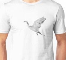 Geese in Flight Unisex T-Shirt