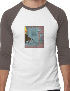 Cooking Meth In The Cellar Men's Baseball ¾ T-Shirt