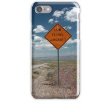 Low Flying Aircraft iPhone Case/Skin