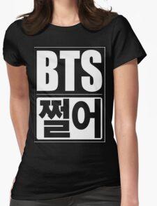 BTS Dope jjeoreo - white Womens Fitted T-Shirt
