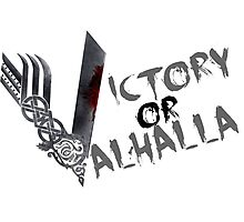Victory or Valhalla Photographic Print
