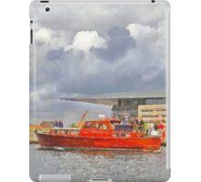Cabin Cruiser and the Copenhagen Opera House iPad Case/Skin