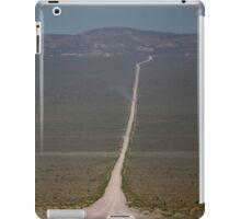 Groom Lake Road iPad Case/Skin