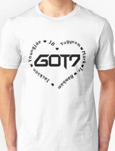 GOT7 Heart Unisex T-Shirt