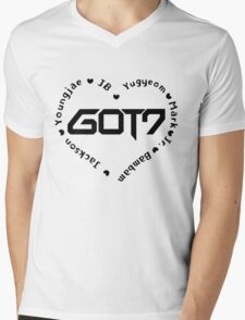 GOT7 Heart Mens V-Neck T-Shirt