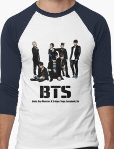 BTS Bangtan Boys Men's Baseball ¾ T-Shirt