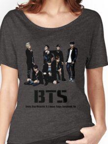 BTS Bangtan Boys Women's Relaxed Fit T-Shirt