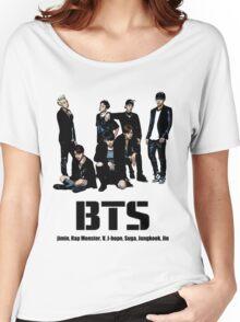 BTS Bangtan Boys Women's Relaxed Fit T-Shirt