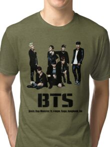 BTS Bangtan Boys Tri-blend T-Shirt