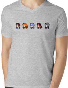 Evangelion: Yellow Edition 2 Mens V-Neck T-Shirt