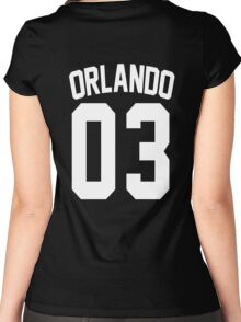 Johnny Orlando's Jersey Women's Fitted Scoop T-Shirt