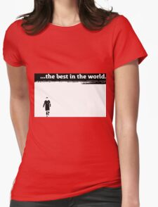 """Cristiano Ronaldo """"the best in the world"""" black and white T-Shirt"""