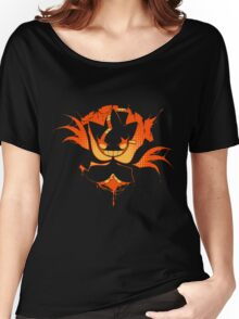 Mega Banette -orange- Women's Relaxed Fit T-Shirt