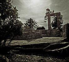 Stone Archway by Bluejayarts