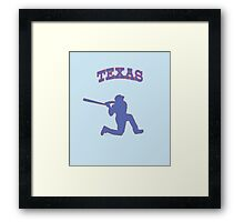 beltre swinging on a knee Framed Print