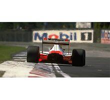 Formula 1 Ayrton Senna Imola Photographic Print