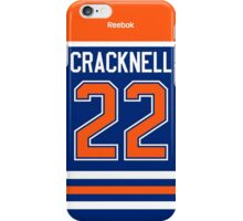 Edmonton Oilers Adam Cracknell Jersey Back Phone Case iPhone Case/Skin