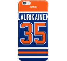 Edmonton Oilers Eetu Laurikainen Jersey Back Phone Case iPhone Case/Skin