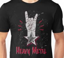 Heavy Metal Design T-shirt thunder slayer megadeth pantera Unisex T-Shirt