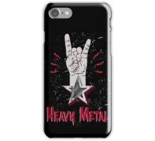 Heavy Metal Design T-shirt thunder slayer megadeth pantera iPhone Case/Skin