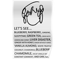 Ramona Flowers Tea Poster