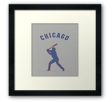 Kris bryant for the cubbies Framed Print