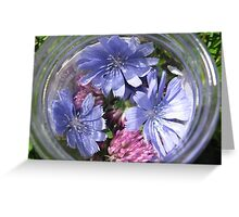 Flowers in a Jar Greeting Card